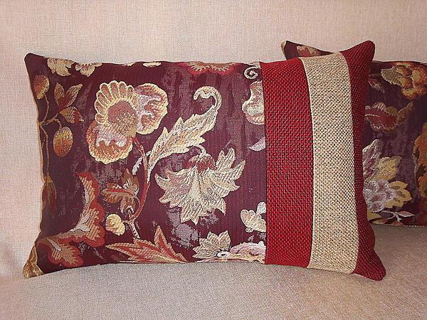 Декоративная наволочка своими руками с фото
