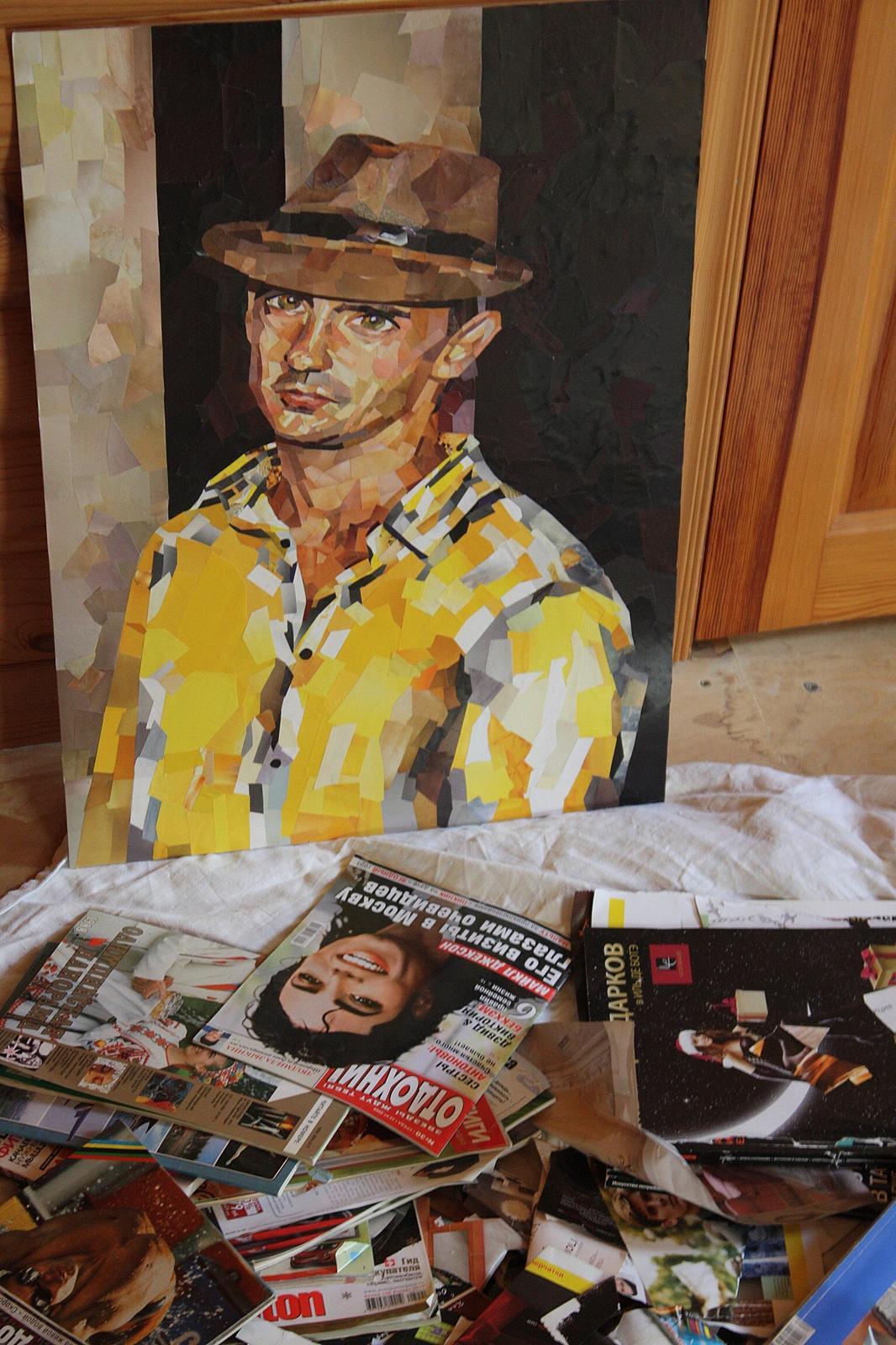 13 Art studio - Портрет ,А3 Техника #коллаж...   Facebook   1600x1066