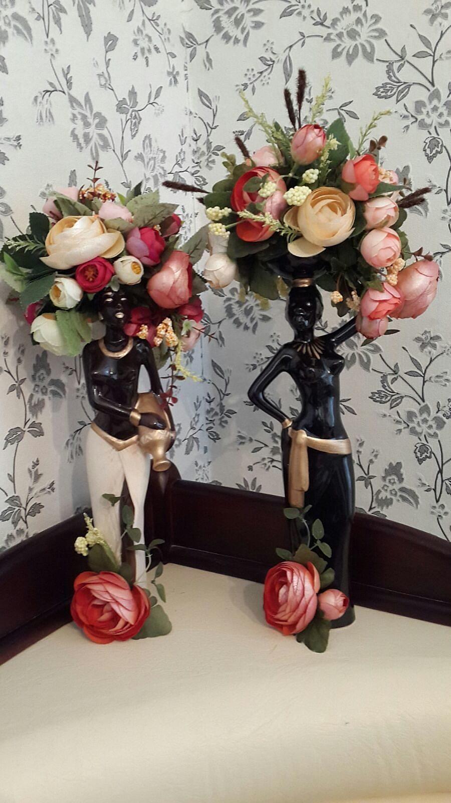 Статуэтки для цветов своими руками