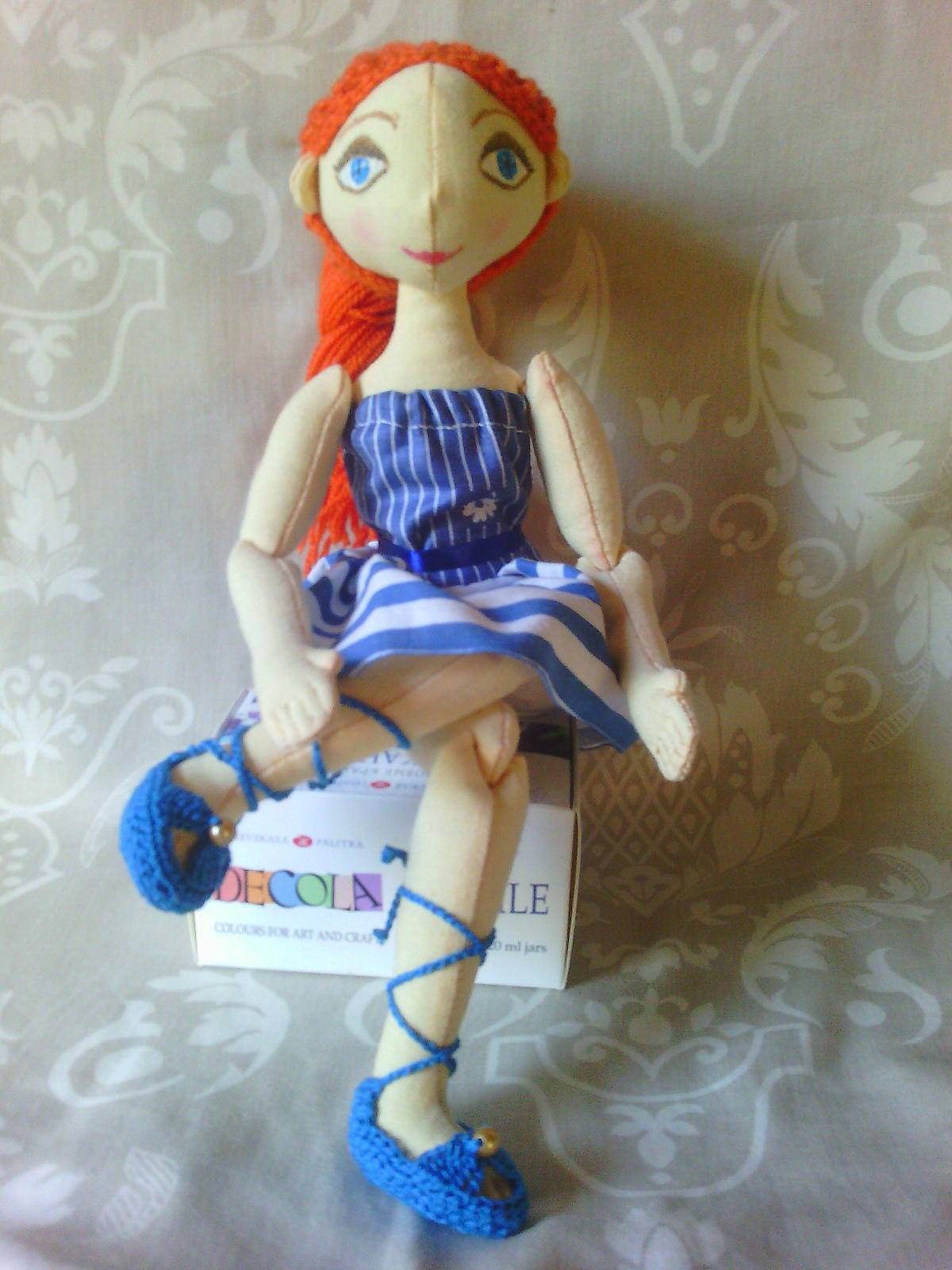 Куклы из фарфора своими руками мастер класс