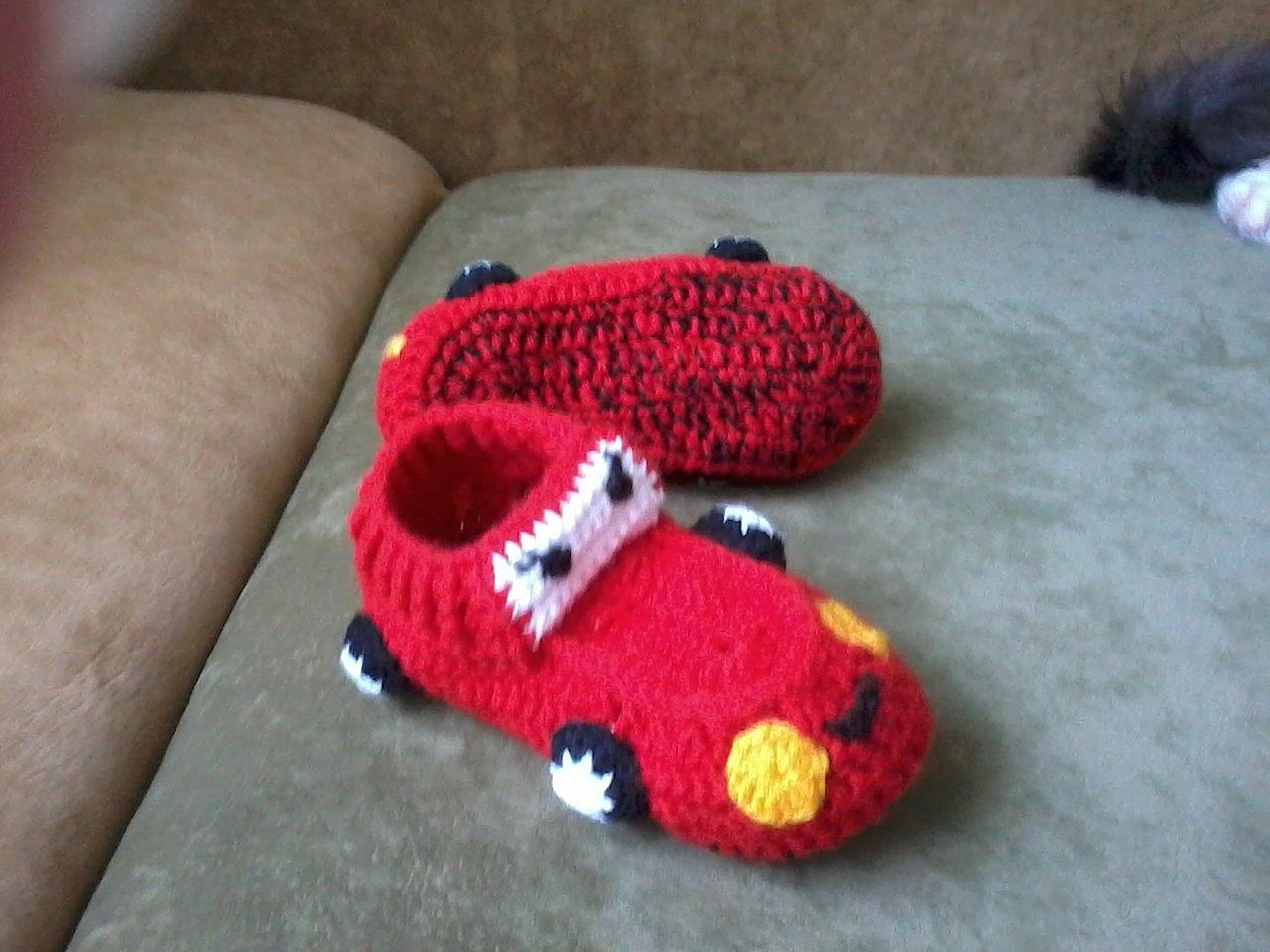 Детские тапочки носочки Тачки в наличии сделано своими руками