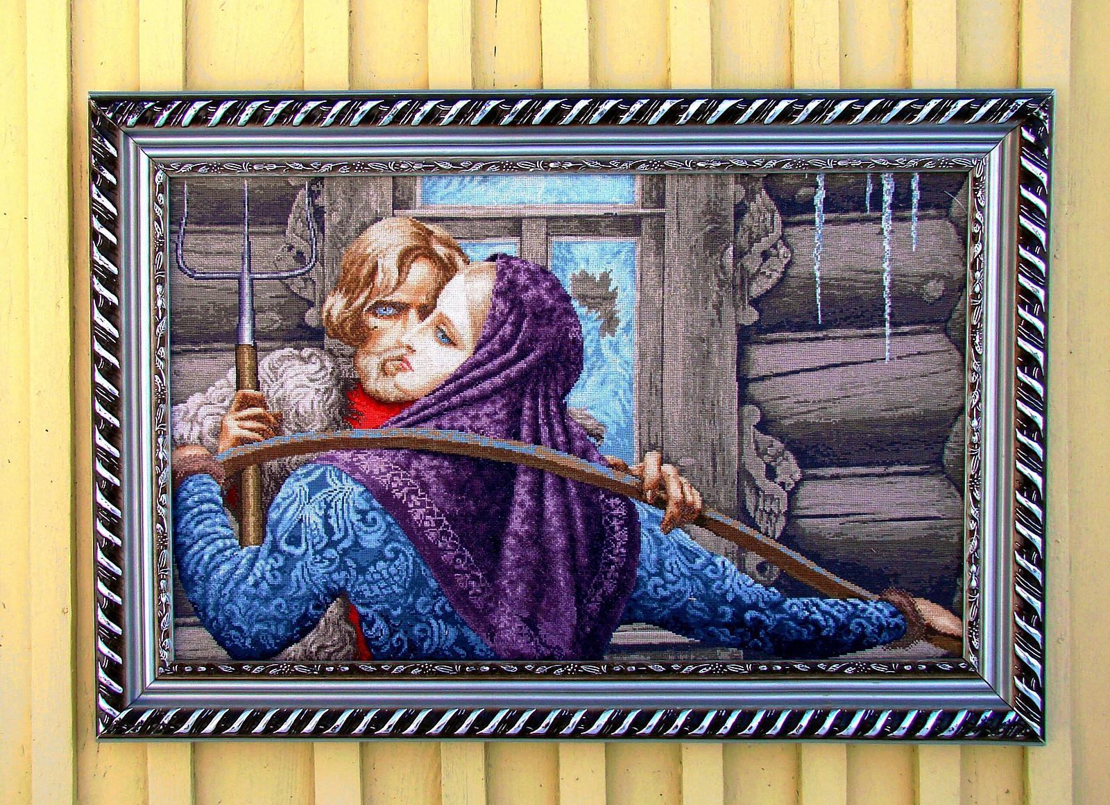 Вязанье картин своими руками фото 587