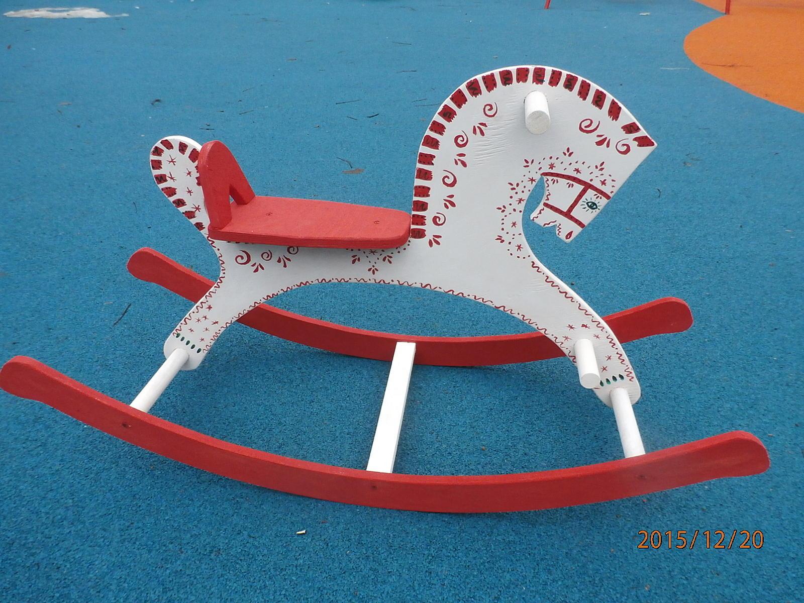 лошадка вязанные крючком схема