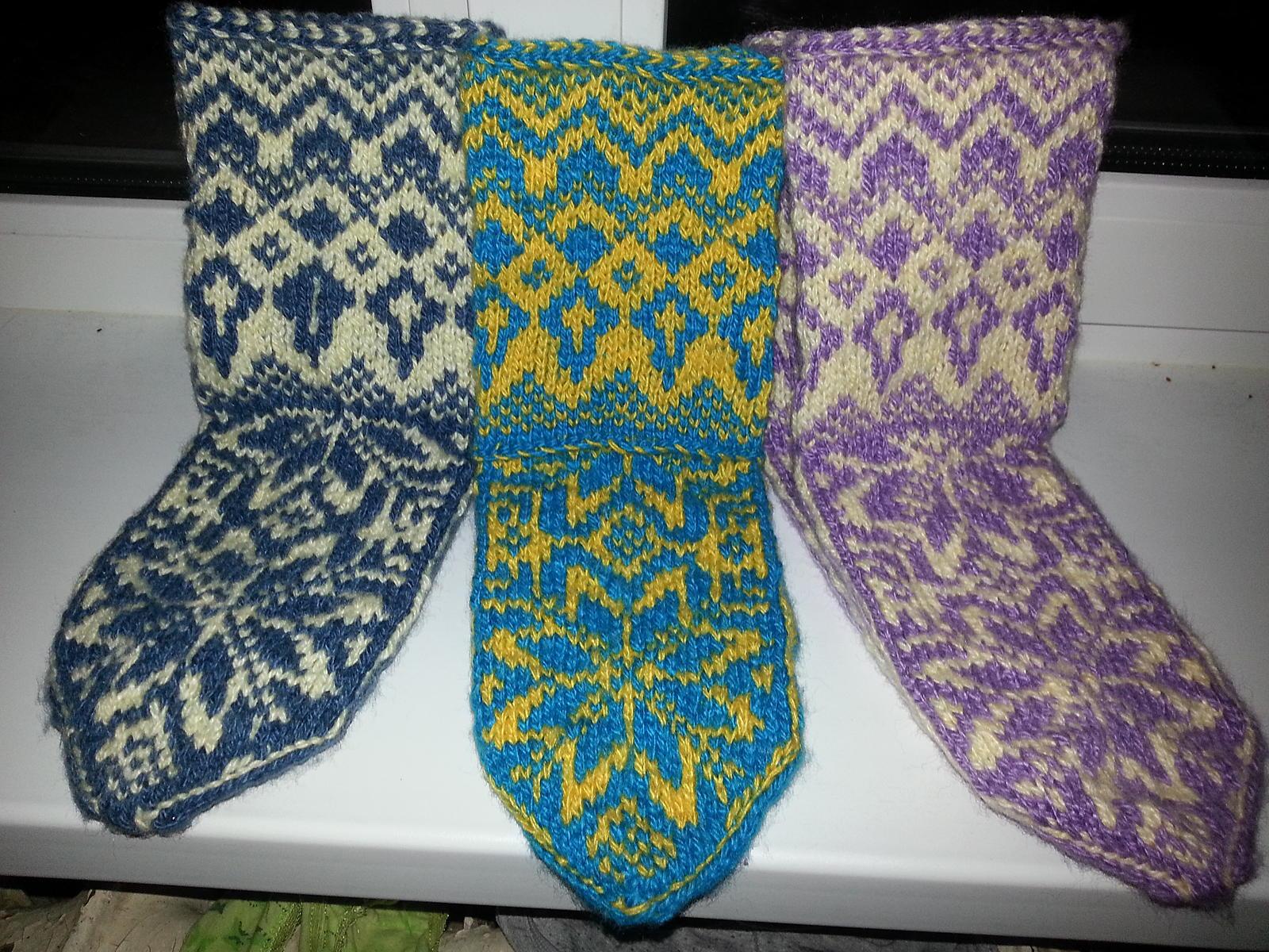 вязание пятки носка элементарная схема