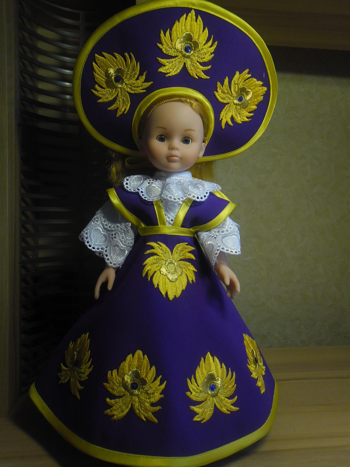 Костюм куклы для девочки своими руками выкройки