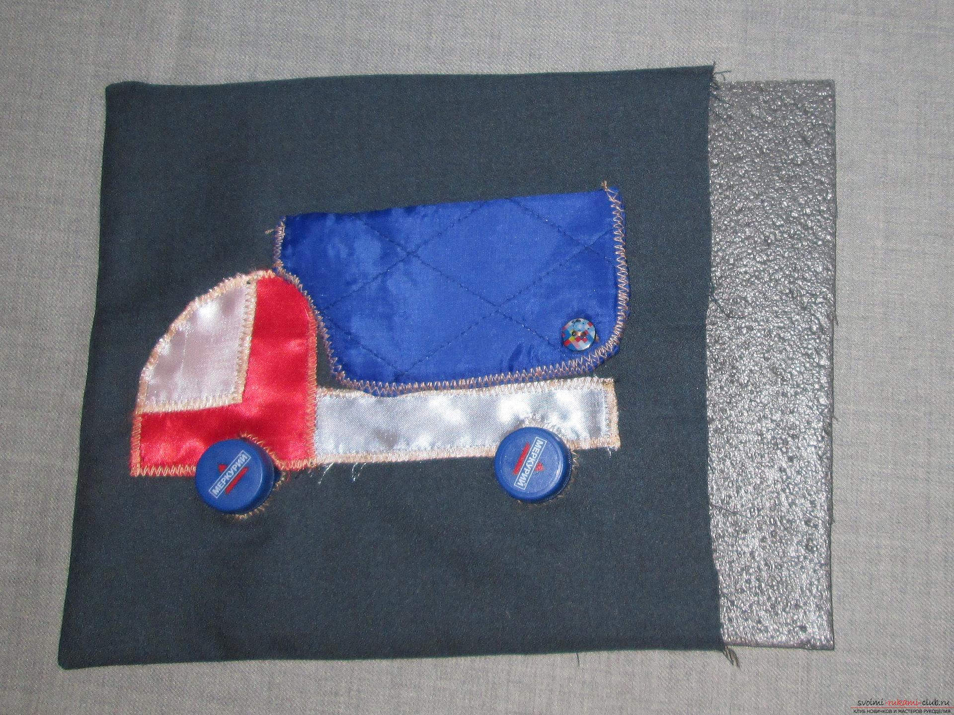 Мастер-класс научит как сделать своими руками развивающую игрушку из подручных материалов. Фото №12