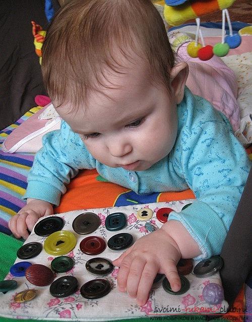 Игрушки развивающие для детей 1-2 года своими руками