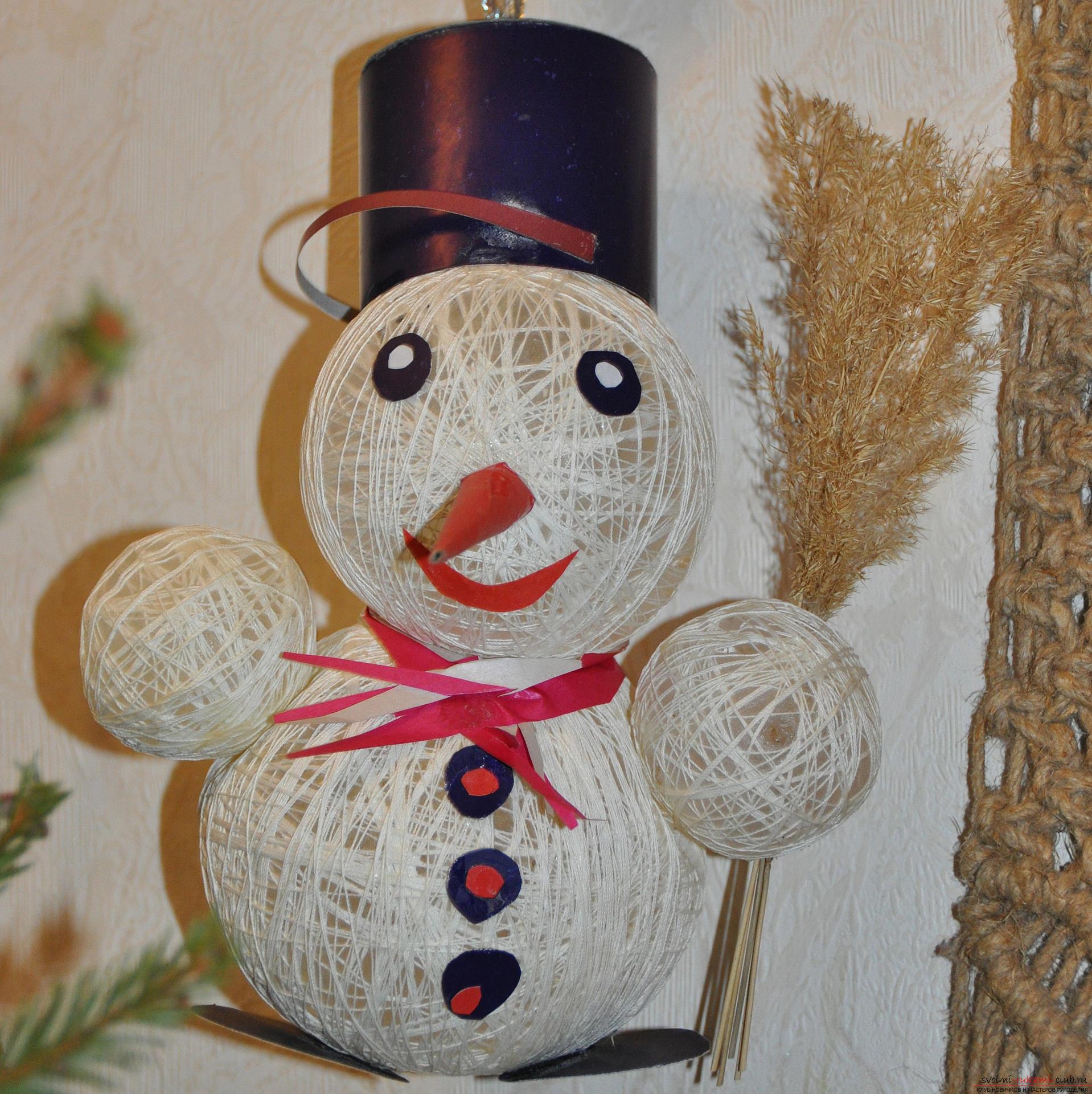 Дом снеговика своими руками