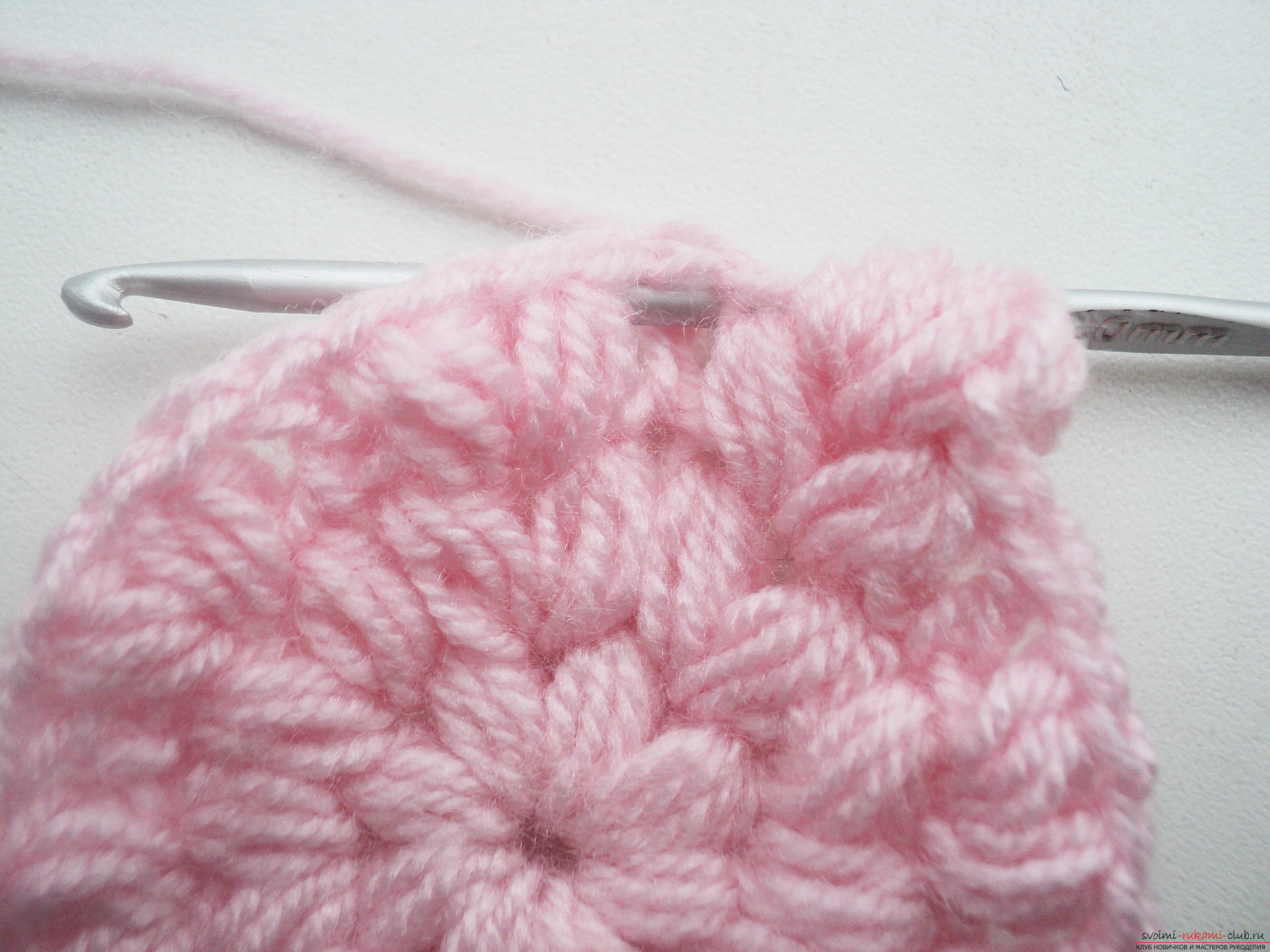 Как вязать шапку спицами с описанием и схемами, Вязание 13