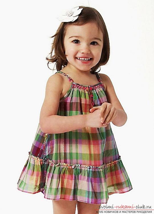 Шьём сарафан для девочки своими руками