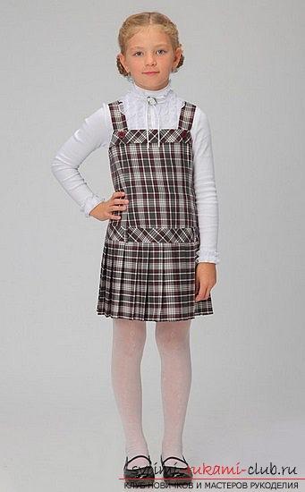 Будь модной! Крой и шитье зимнего сарафана. Модная одежда