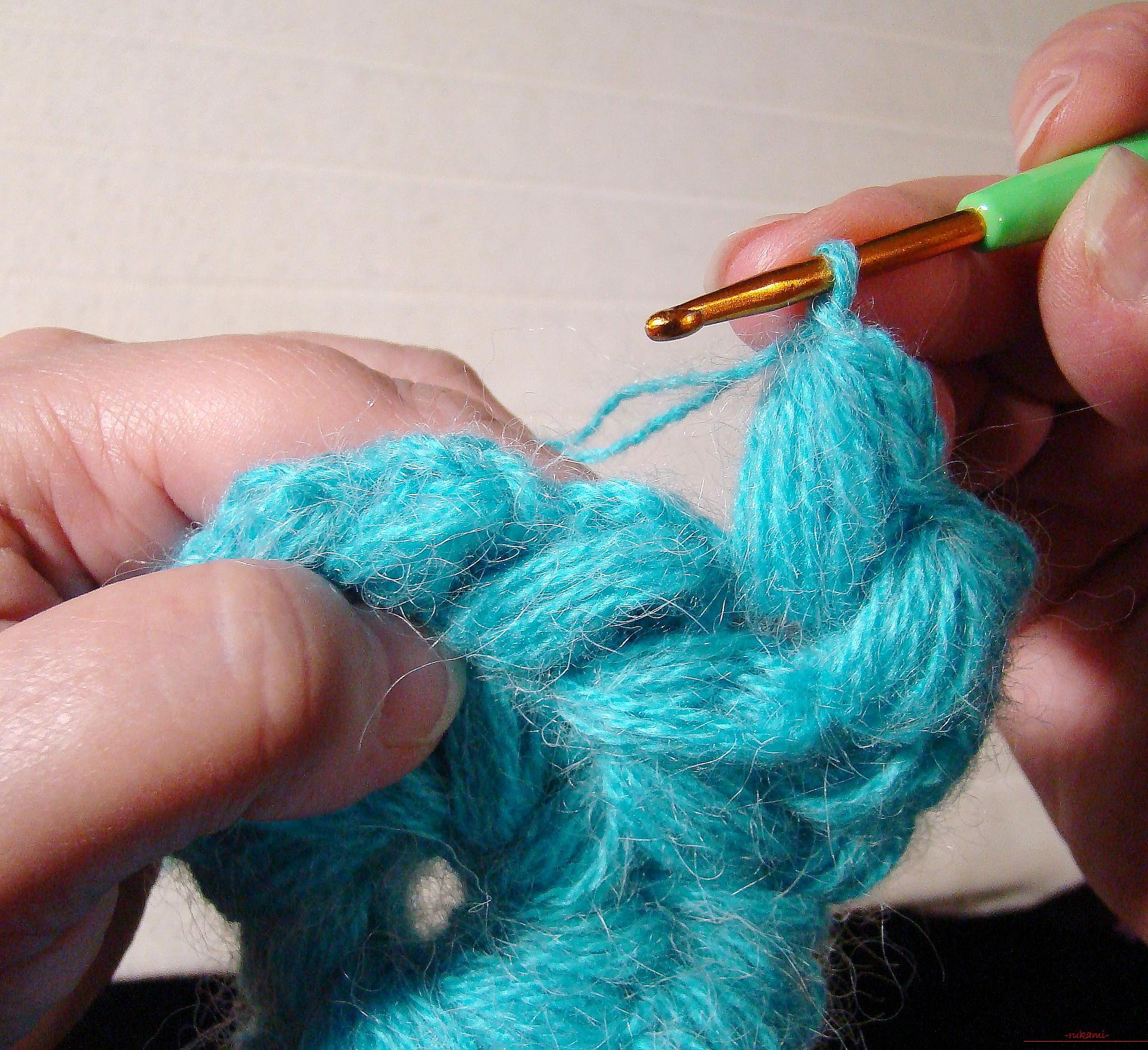 Как заканчивать ряд вязание спицами фото