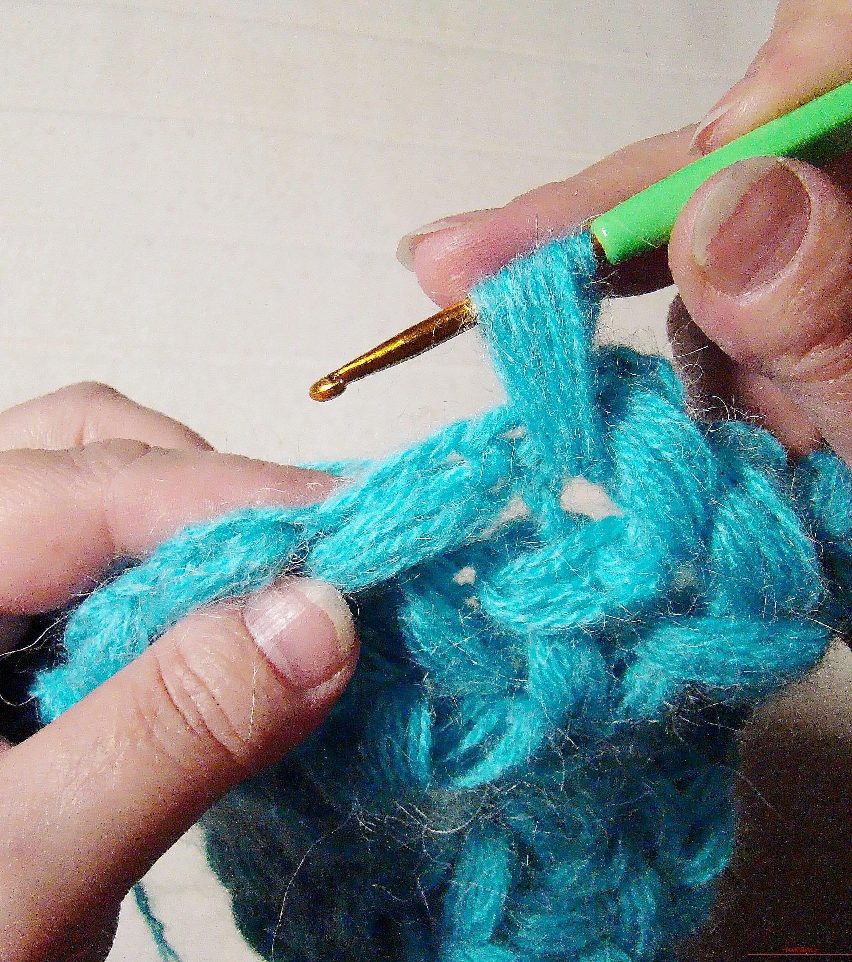 Мастер класс по вязанию резинками