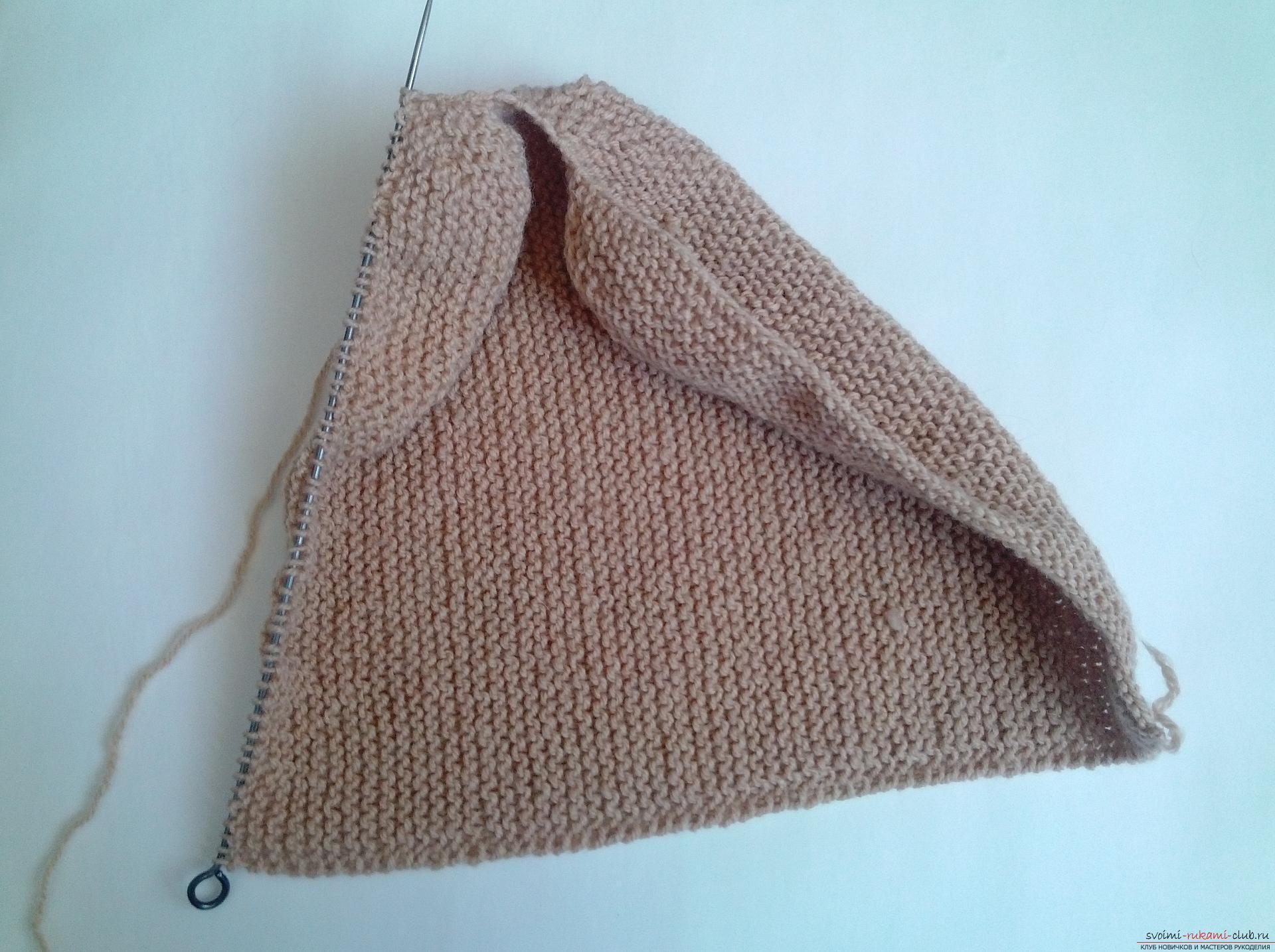 Этот подробный мастер-класс вязания шапки спицами со схемой и описанием научит как связать шапку бини.. Фото №6