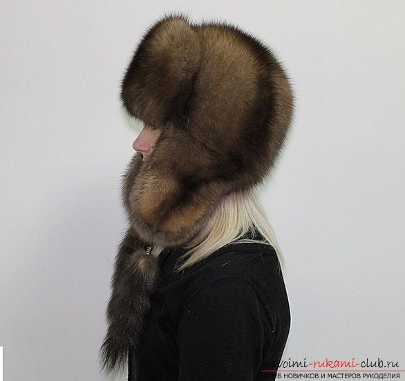 Как сшить шапку из меха по профессиональной выкройке
