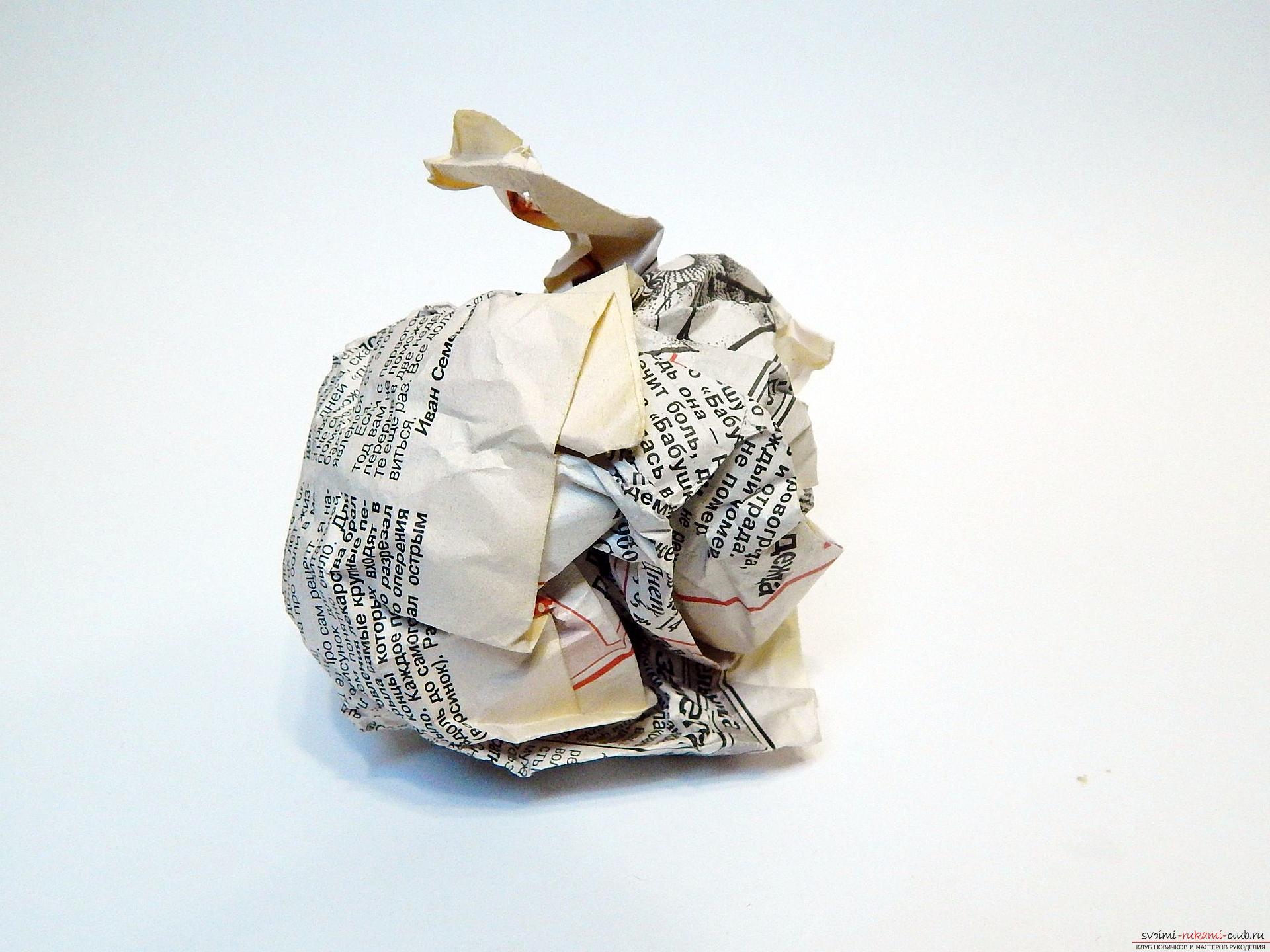 Поделка новогодняя своими руками из подручных материалов