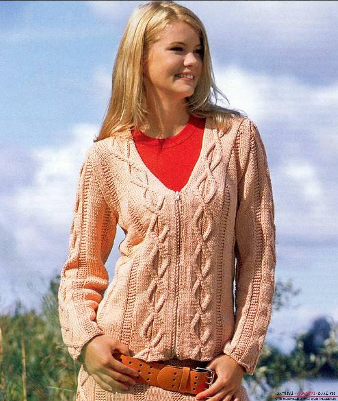 Какие модные вязаные кофты будут актуальными летом, осенью, весной и зимой 2015 года для женщин всех возрастов