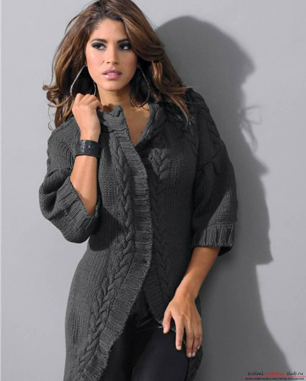 Кофты 2014 женская мода винтаж полосатый нерегулярные вязаный кардиган женс