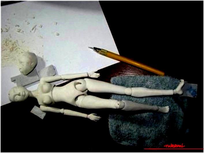Учимся создавать шарнирные куклы своими руками