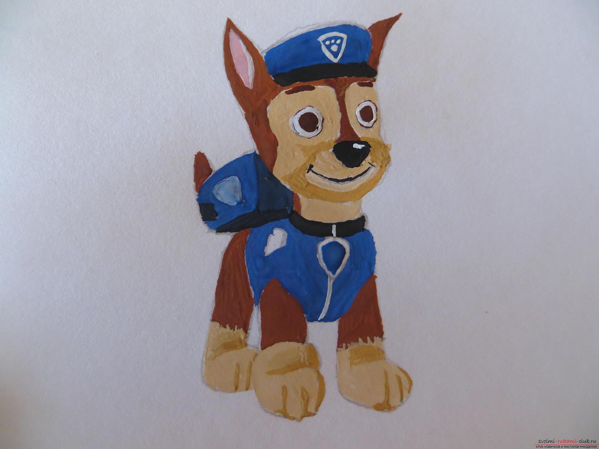 Этот мастер-класс по рисованию научит как нарисовать персонажа из мультфильма