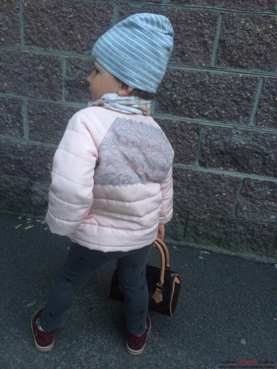 Этот мастер-класс с выкройкой одежды для девочек, фото и описанием шитья детской одежды расскажет как сшить куртки для девочек.. Фото №53