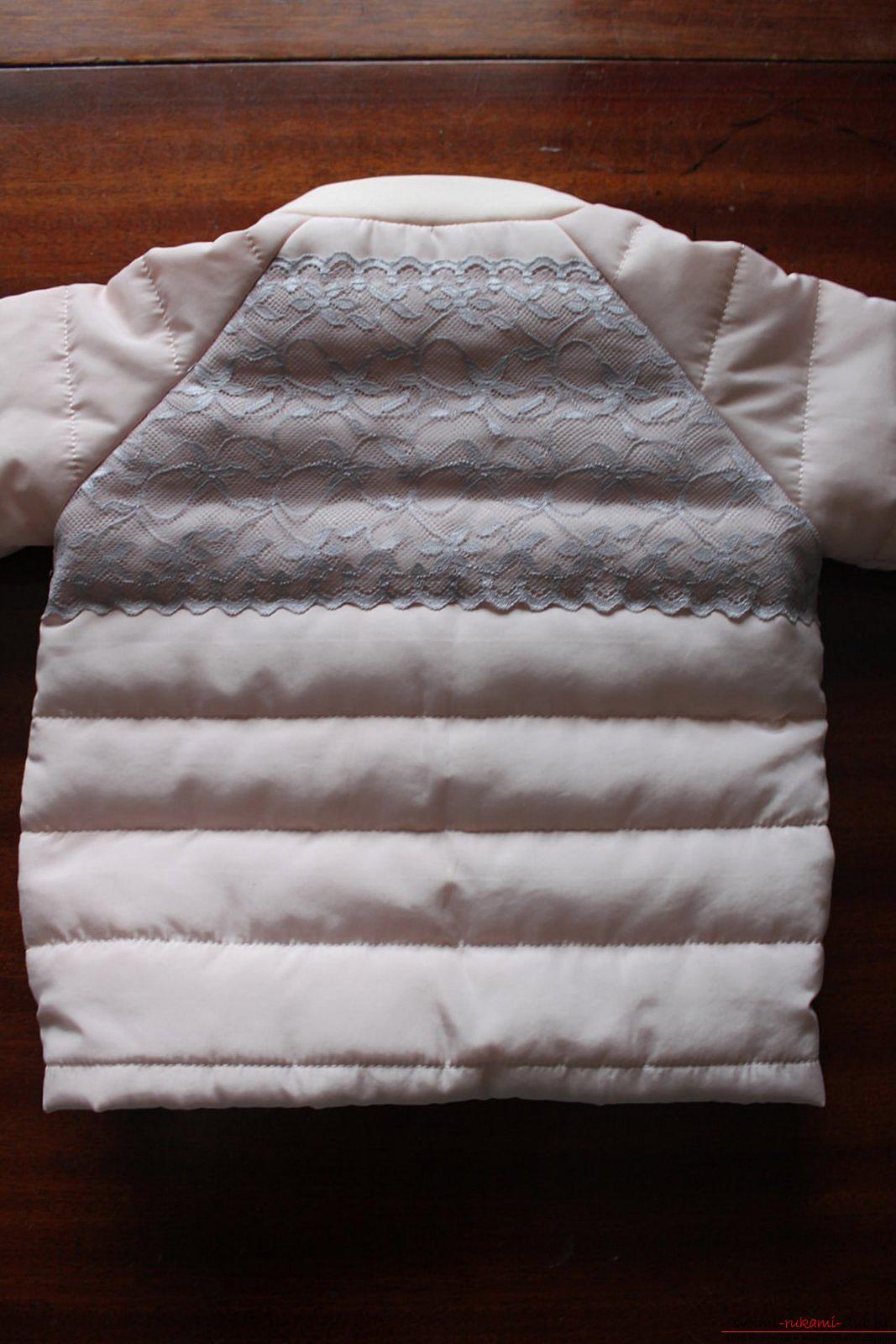 Этот мастер-класс с выкройкой одежды для девочек, фото и описанием шитья детской одежды расскажет как сшить куртки для девочек.. Фото №50