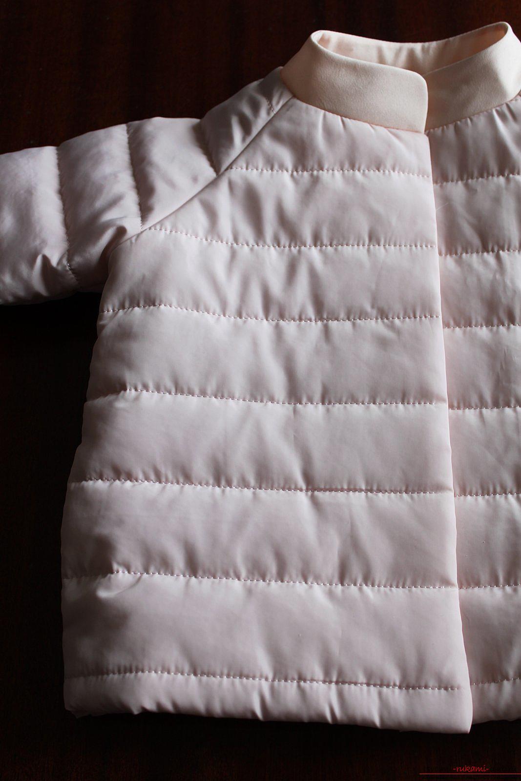 Этот мастер-класс с выкройкой одежды для девочек, фото и описанием шитья детской одежды расскажет как сшить куртки для девочек.. Фото №46