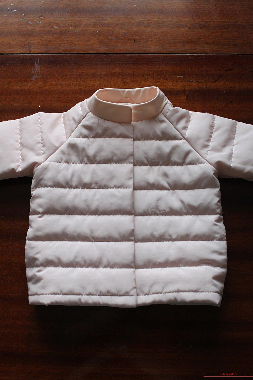 Этот мастер-класс с выкройкой одежды для девочек, фото и описанием шитья детской одежды расскажет как сшить куртки для девочек.. Фото №47