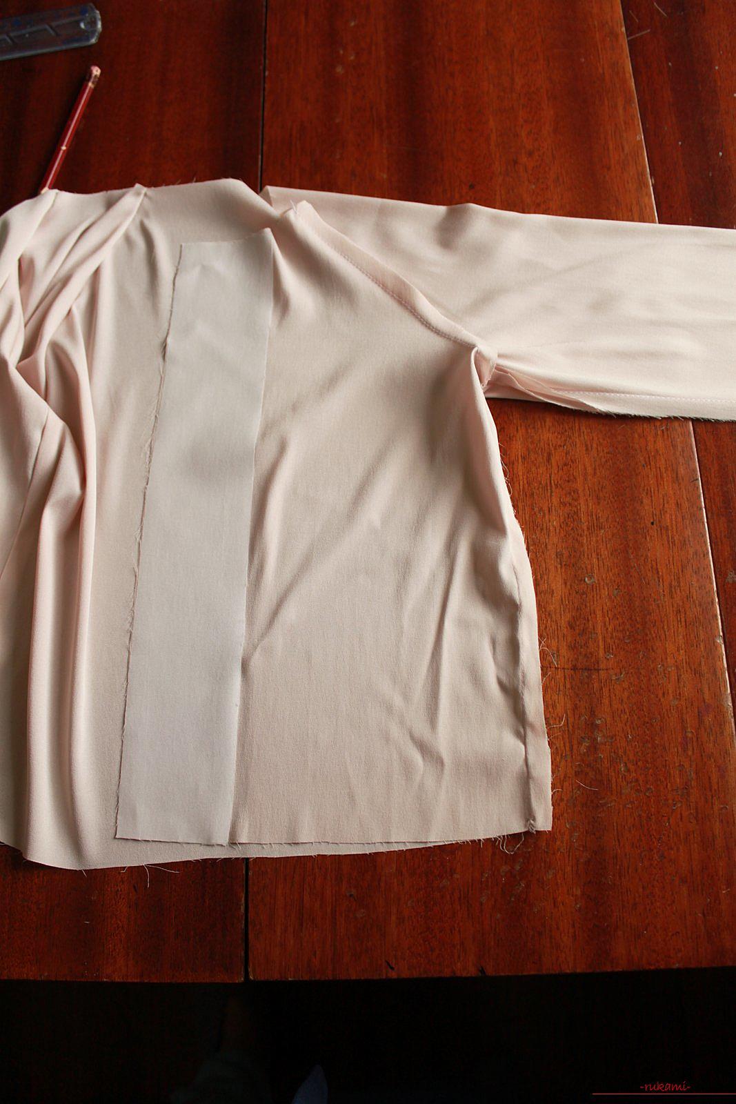 Этот мастер-класс с выкройкой одежды для девочек, фото и описанием шитья детской одежды расскажет как сшить куртки для девочек.. Фото №35