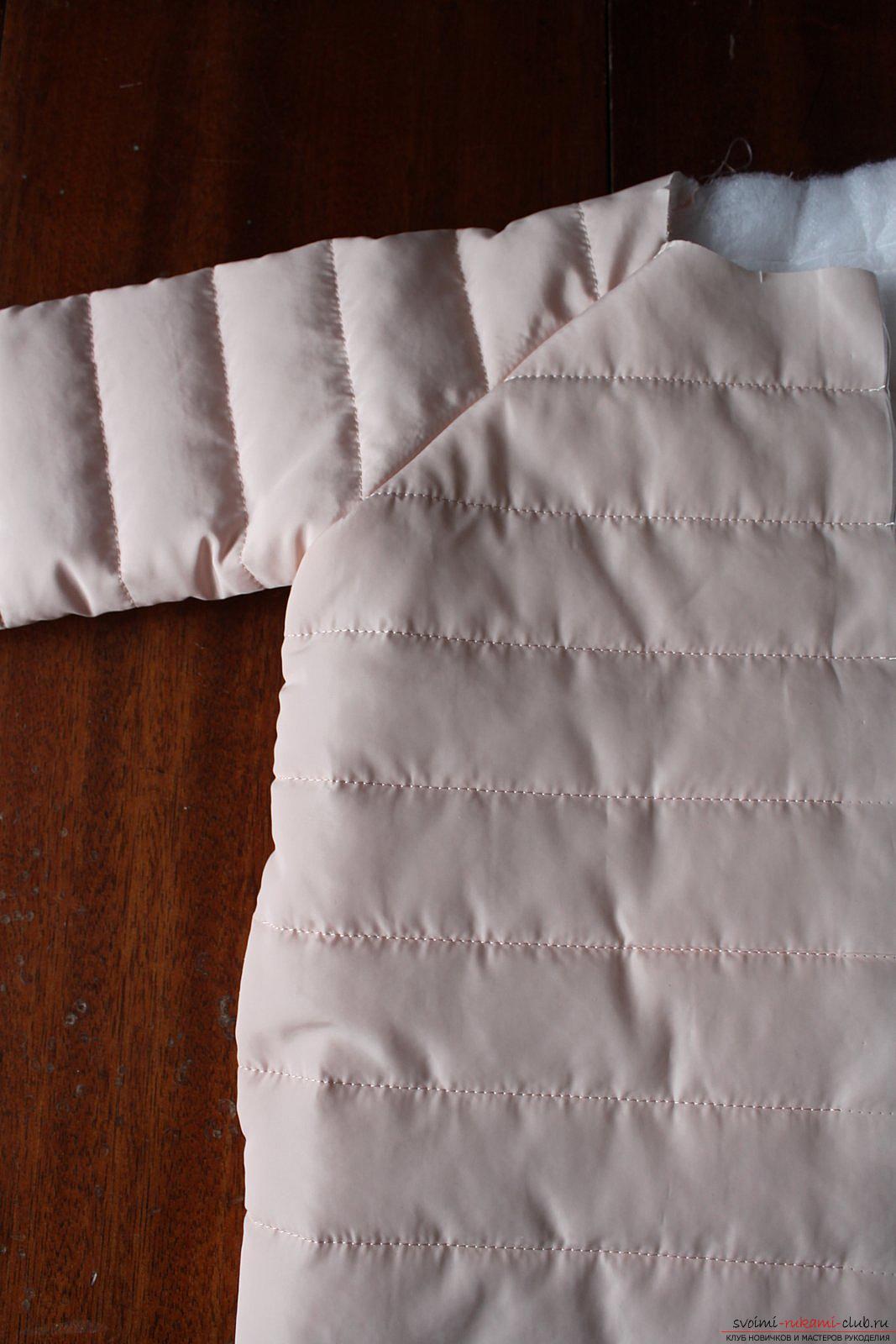 Этот мастер-класс с выкройкой одежды для девочек, фото и описанием шитья детской одежды расскажет как сшить куртки для девочек.. Фото №16