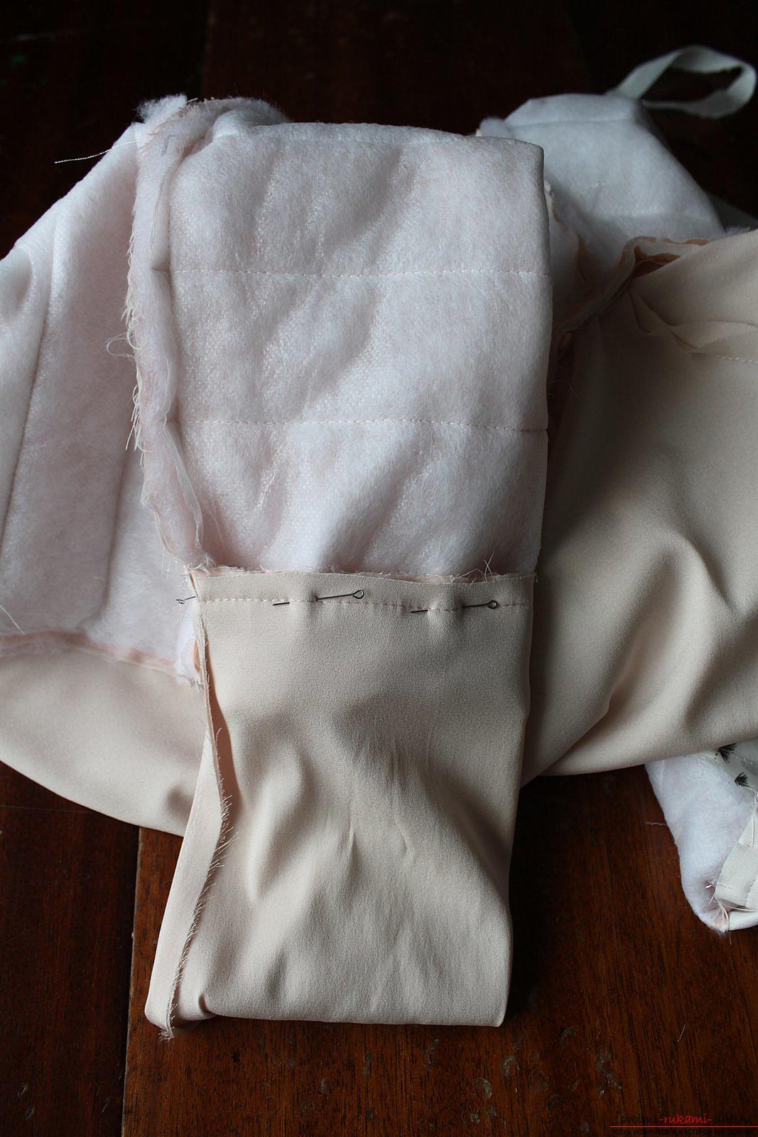 Этот мастер-класс с выкройкой одежды для девочек, фото и описанием шитья детской одежды расскажет как сшить куртки для девочек.. Фото №42
