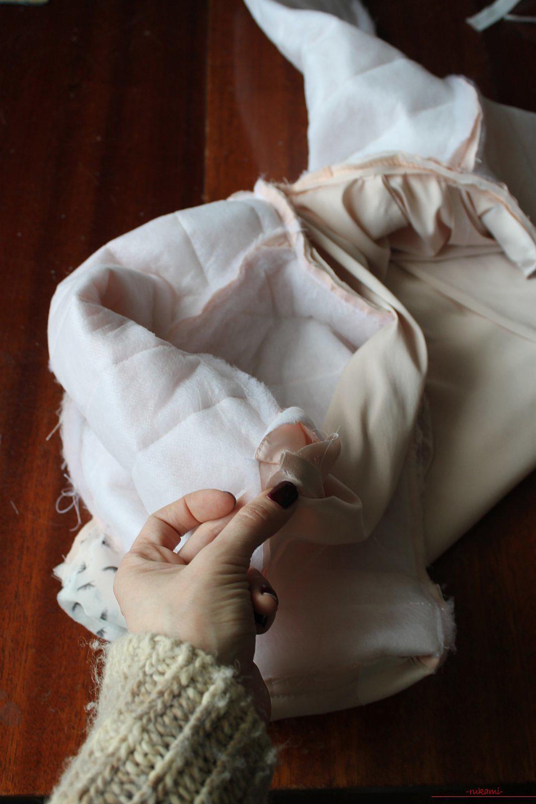 Этот мастер-класс с выкройкой одежды для девочек, фото и описанием шитья детской одежды расскажет как сшить куртки для девочек.. Фото №41