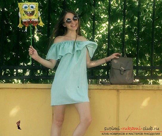30d6414497305f4 Этот подробный мастер-класс легкого шитья для начинающих научит как сшить  летнее платье своими руками