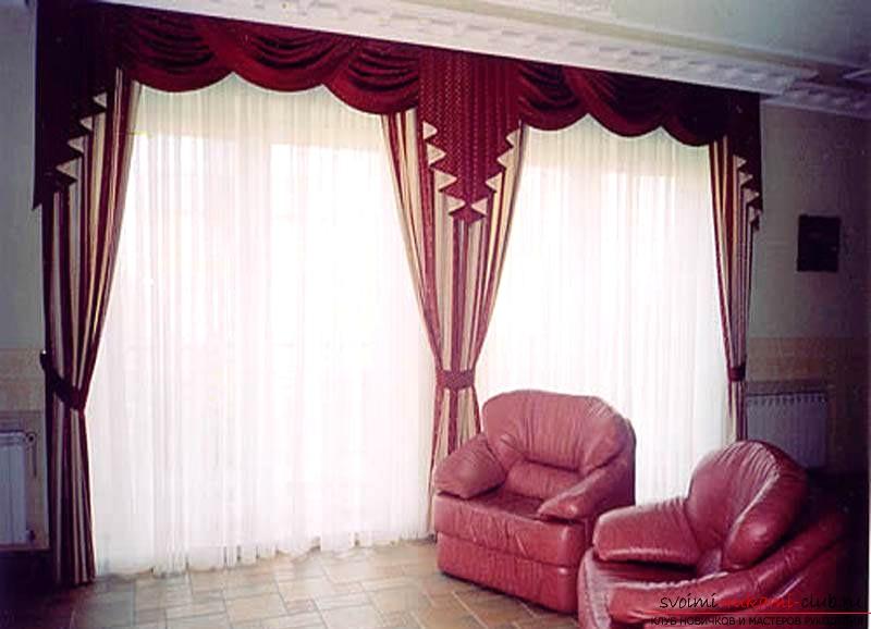 Шьем шторы для дома своими руками. Фото №1