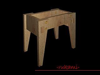 Урок по созданию оригинальной небольшой скамеечки для ребенка с секретным ящиком, подробное описание этапов работы с фотографиями