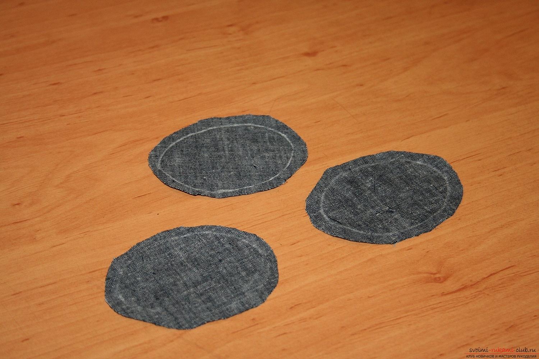 Фото у уроку по пошиву скандинавских гномиков своими руками. Фото №9