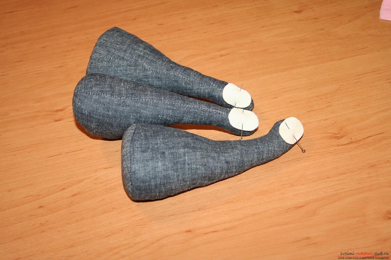 Фото у уроку по пошиву скандинавских гномиков своими руками. Фото №32