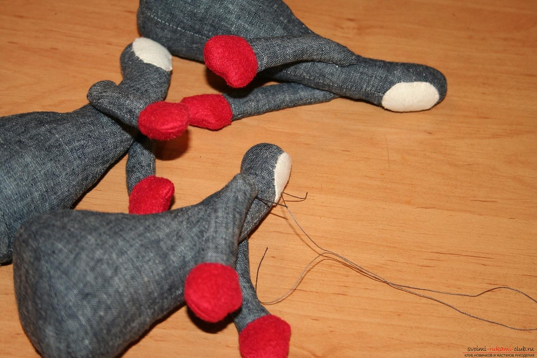 Фото у уроку по пошиву скандинавских гномиков своими руками. Фото №39