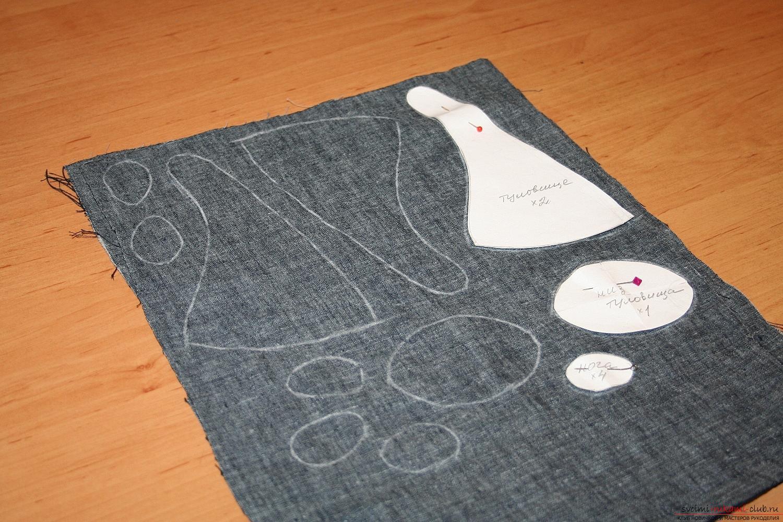 Фото у уроку по пошиву скандинавских гномиков своими руками. Фото №5