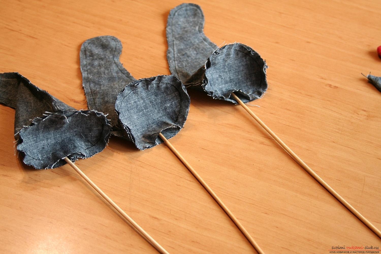 Фото у уроку по пошиву скандинавских гномиков своими руками. Фото №27