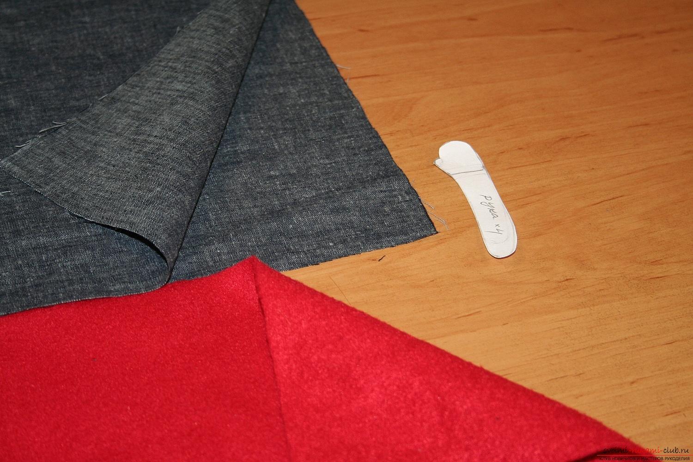 Фото у уроку по пошиву скандинавских гномиков своими руками. Фото №10