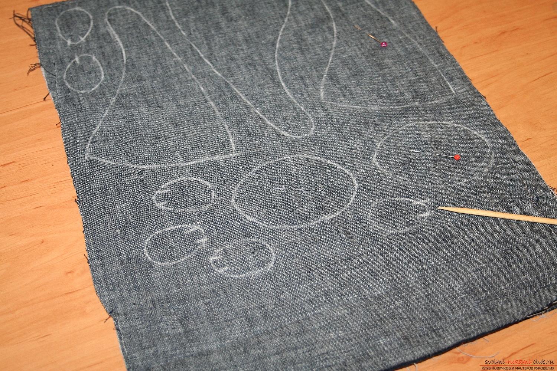 Фото у уроку по пошиву скандинавских гномиков своими руками. Фото №6