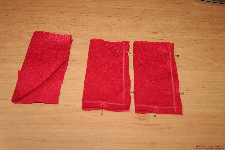 Фото у уроку по пошиву скандинавских гномиков своими руками. Фото №55