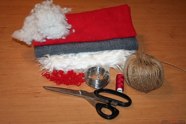 Фото у уроку по пошиву скандинавских гномиков своими руками. Фото <i>вязанные</i> №1