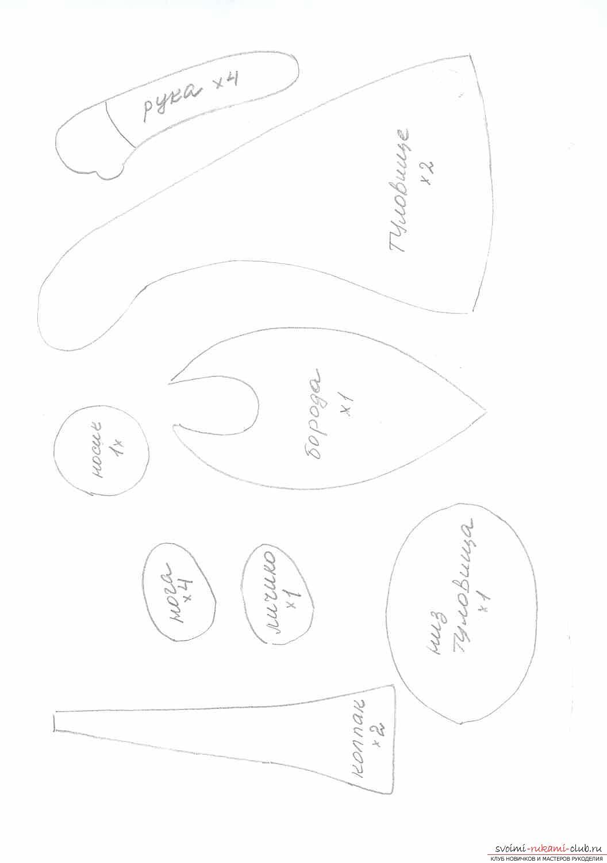 Фото у уроку по пошиву скандинавских гномиков своими руками. Фото №2