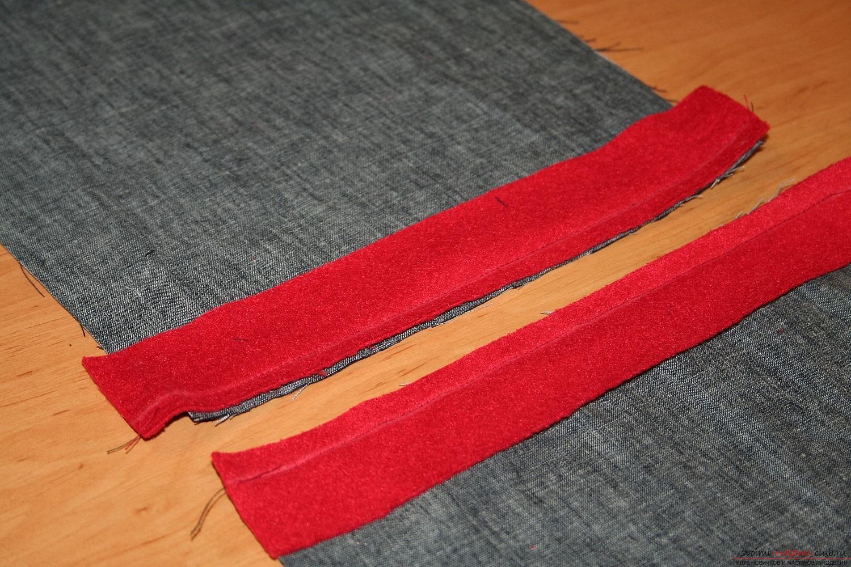 Фото у уроку по пошиву скандинавских гномиков своими руками. Фото №13