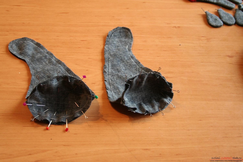 Фото у уроку по пошиву скандинавских гномиков своими руками. Фото №23