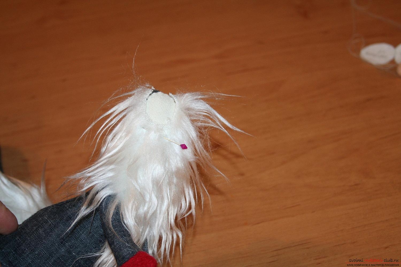 Фото у уроку по пошиву скандинавских гномиков своими руками. Фото №46