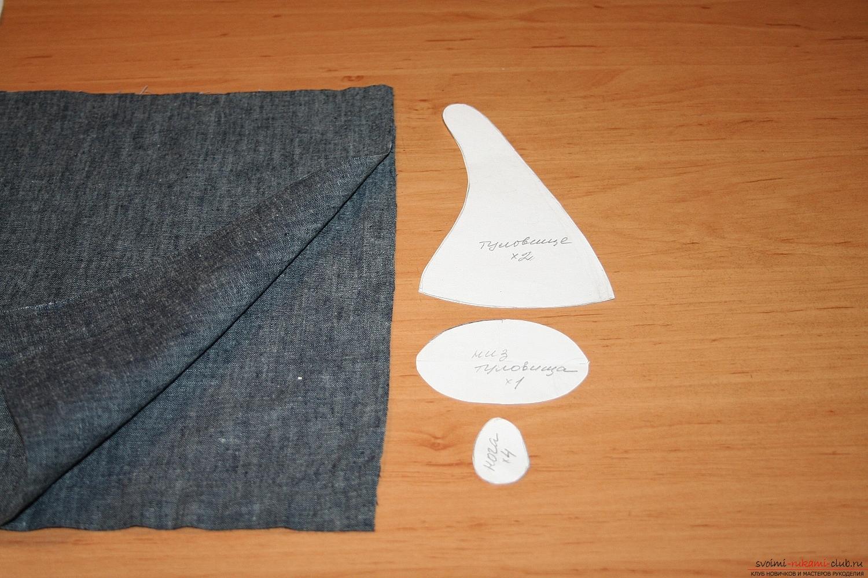 Фото у уроку по пошиву скандинавских гномиков своими руками. Фото №4