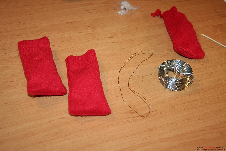 Фото у уроку по пошиву скандинавских гномиков своими руками. Фото №58